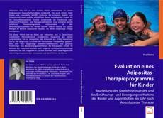 Portada del libro de Evaluation eines Adipositas-Therapieprogramms für Kinder