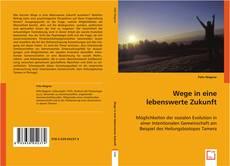 Buchcover von Wege in eine lebenswerte Zukunft