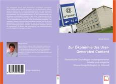 Bookcover of Zur Ökonomie des User-Generated Content