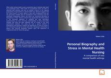 Buchcover von Personal Biography and Stress in Mental Health Nursing