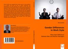 Gender Differences in Work Style kitap kapağı