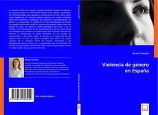 Bookcover of Violencia de género en España
