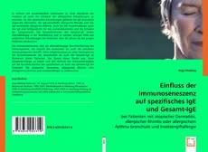 Buchcover von Einfluss der Immunoseneszenz auf spezifisches IgE und Gesamt-IgE
