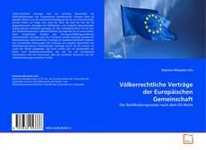 Buchcover von Völkerrechtliche Verträge der Europäischen Gemeinschaft