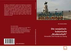 """Borítókép a  Die sowjetisch-kubanische """"Bruderschaft"""" - hoz"""