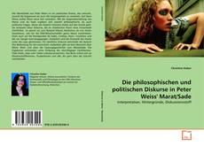 Portada del libro de Die philosophischen und politischen Diskurse in Peter Weiss' Marat/Sade