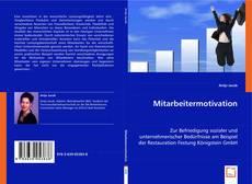 Buchcover von Mitarbeitermotivation
