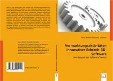 Bookcover of Vermarktungsaktivitäten innovativer Echtzeit-3D-Software