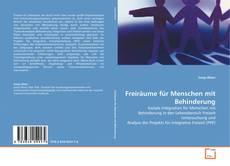 Buchcover von Freiräume für Menschen mit Behinderung