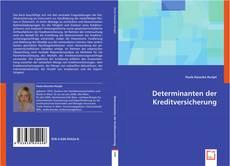 Buchcover von Determinanten der Kreditversicherung