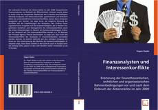 Bookcover of Finanzanalysten und Interessenkonflikte