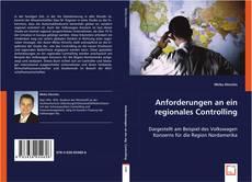 Обложка Anforderungen an ein regionales Controlling