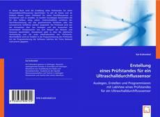 Bookcover of Erstellung eines Prüfstandes für ein Ultraschalldurchflussensor