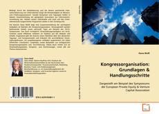 Capa do livro de Kongressorganisation: Grundlagen