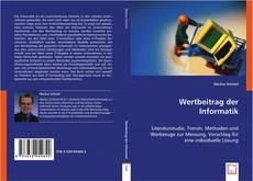 Bookcover of Wertbeitrag der Informatik