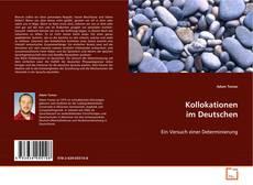 Bookcover of Kollokationen im Deutschen