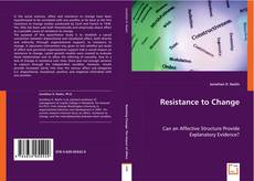 Bookcover of Resistance to Change