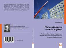 Planungsprozesse von Bauprojekten kitap kapağı