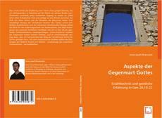 Bookcover of Aspekte der Gegenwart Gottes