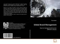 Capa do livro de Global Brand Management