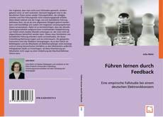 Bookcover of Führen lernen durch Feedback