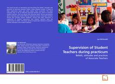 Bookcover of Supervision of Student Teachers during practicum