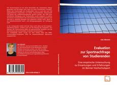 Evaluation zur Sportnachfrage von Studierenden的封面