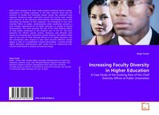 Copertina di Increasing Faculty Diversity in Higher Education