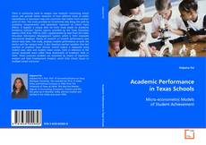 Bookcover of Academic Performance in Texas Schools