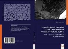 Borítókép a  Optimization of the Solid-State Shear Extrusion Process for Natural Rubber - hoz