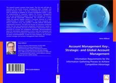 Copertina di Account Management Key-, Strategic- and Global Account Management