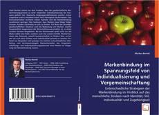 Couverture de Markenbindung im Spannungsfeld von Individualisierung und Vergemeinschaftung
