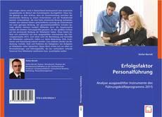 Erfolgsfaktor Personalführung kitap kapağı