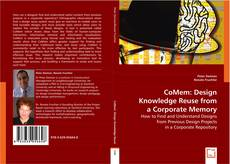 Capa do livro de CoMem: Design Knowledge Reuse from a Corporate Memory