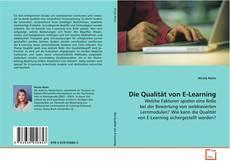 Bookcover of Die Qualität von E-Learning