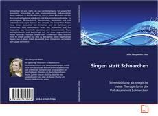 Bookcover of Singen statt Schnarchen