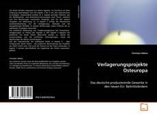 Copertina di Verlagerungsprojekte Osteuropa