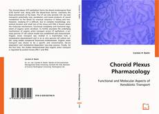 Bookcover of Choroid Plexus Pharmacology