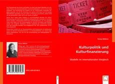 Buchcover von Kulturpolitik und Kulturfinanzierung