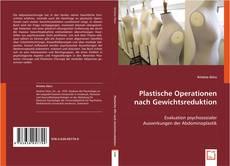 Portada del libro de Plastische Operationen nach Gewichtsreduktion