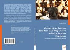 Portada del libro de Cooperating Teacher Selection and Preparation in Music Teacher Education