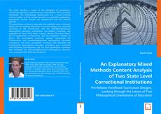 Copertina di An Explanatory Mixed Methods Content Analysis Of Two State Level Correctional Institutions?