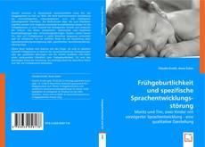 Buchcover von Frühgeburtlichkeit und spezifische Sprachentwicklungsstörung