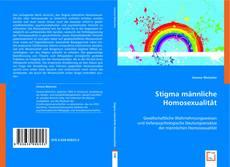 Portada del libro de Stigma männliche Homosexualität