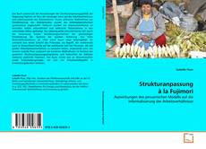 Buchcover von Strukturanpassung à la Fujimori