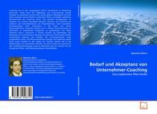Buchcover von Bedarf und Akzeptanz von Unternehmer-Coaching