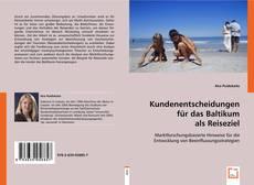 Обложка Kundenentscheidungen für das Baltikum als Reiseziel