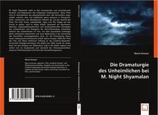 Bookcover of Die Dramaturgie des Unheimlichen bei M. Night Shyamalan