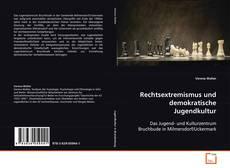 Portada del libro de Rechtsextremismus und demokratische Jugendkultur