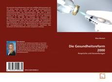 Die Gesundheitsreform 2000 kitap kapağı